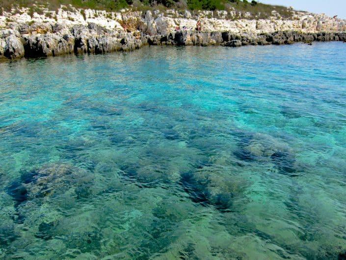 Cape Kamenjak sea