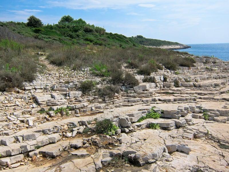 Cape Kamenjak rocks