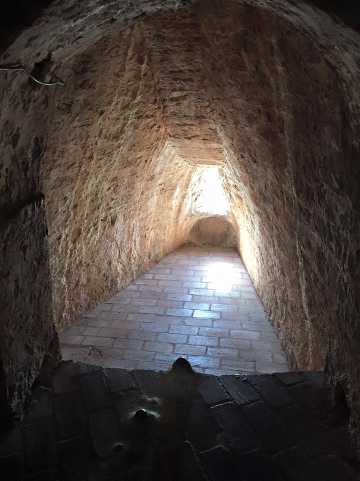 Dalmatia in September 2015 - Figure – Prison Cell in the Fort, Hvar