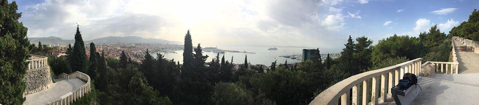 Dalmatia in September 2015 - Split panorama