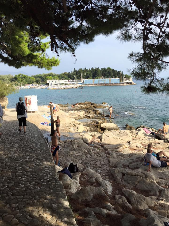 Dalmatia in September 2015 - Split Beach