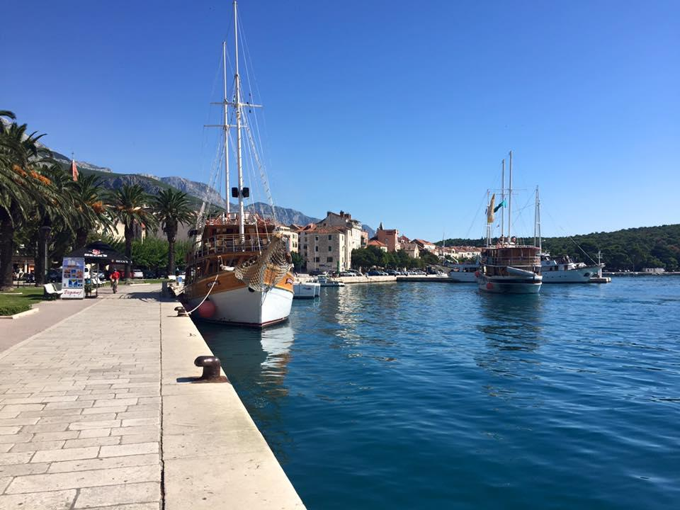 Visiting Dalmatia in September - Makarska Harbour