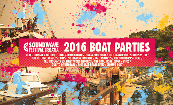 Soundwave Croatia Boat Parties