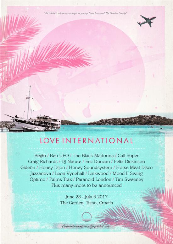 Love International Line-Up 2017