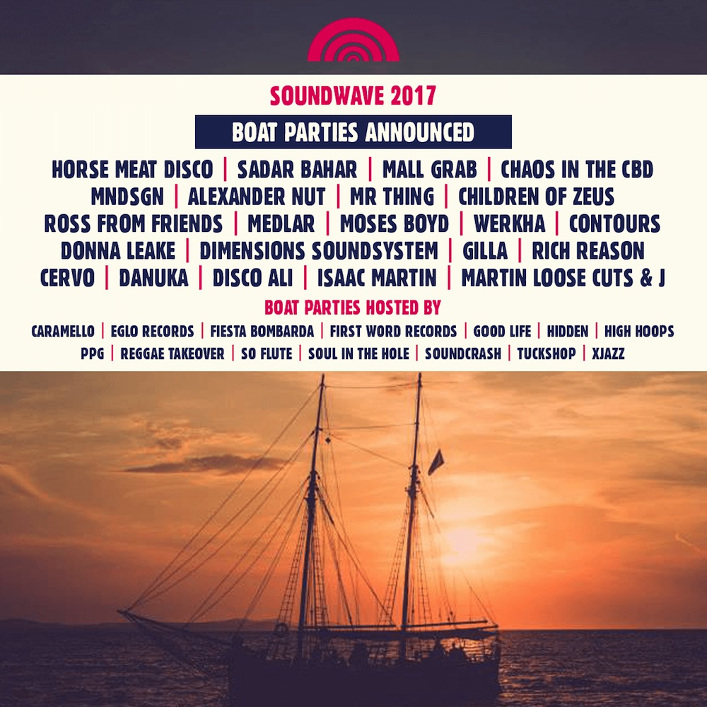 Soundwave Boat Parties