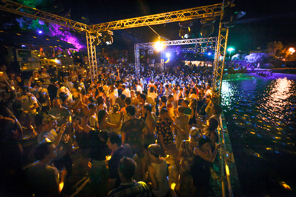 2014, The Garden Festival, Tisno, Croatia, Summer, beach, party, Festival