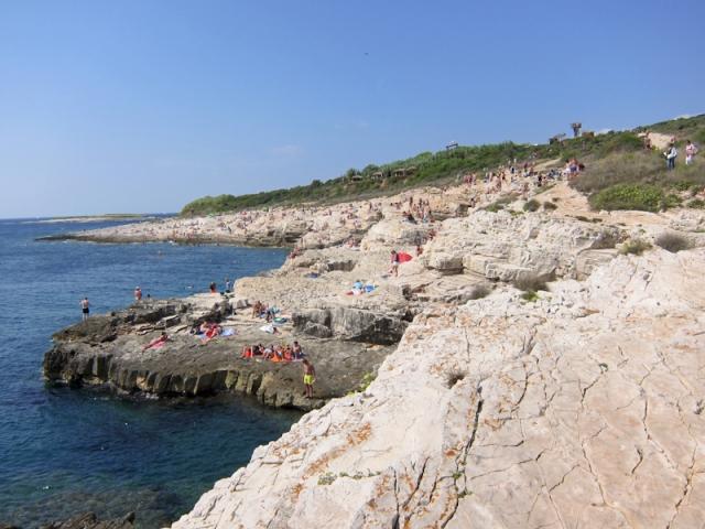 Cape Kamenjak sunbathing