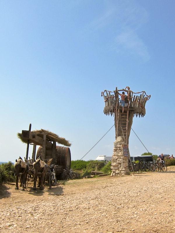 Cape Kamenjak lookout tower