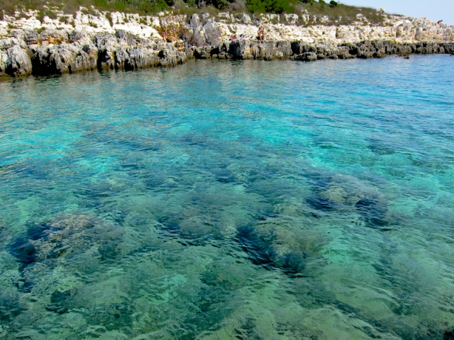 Cape Kamenjak sea colour