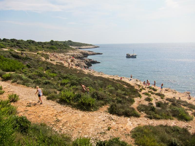 Cape Kamenjak sunbathers
