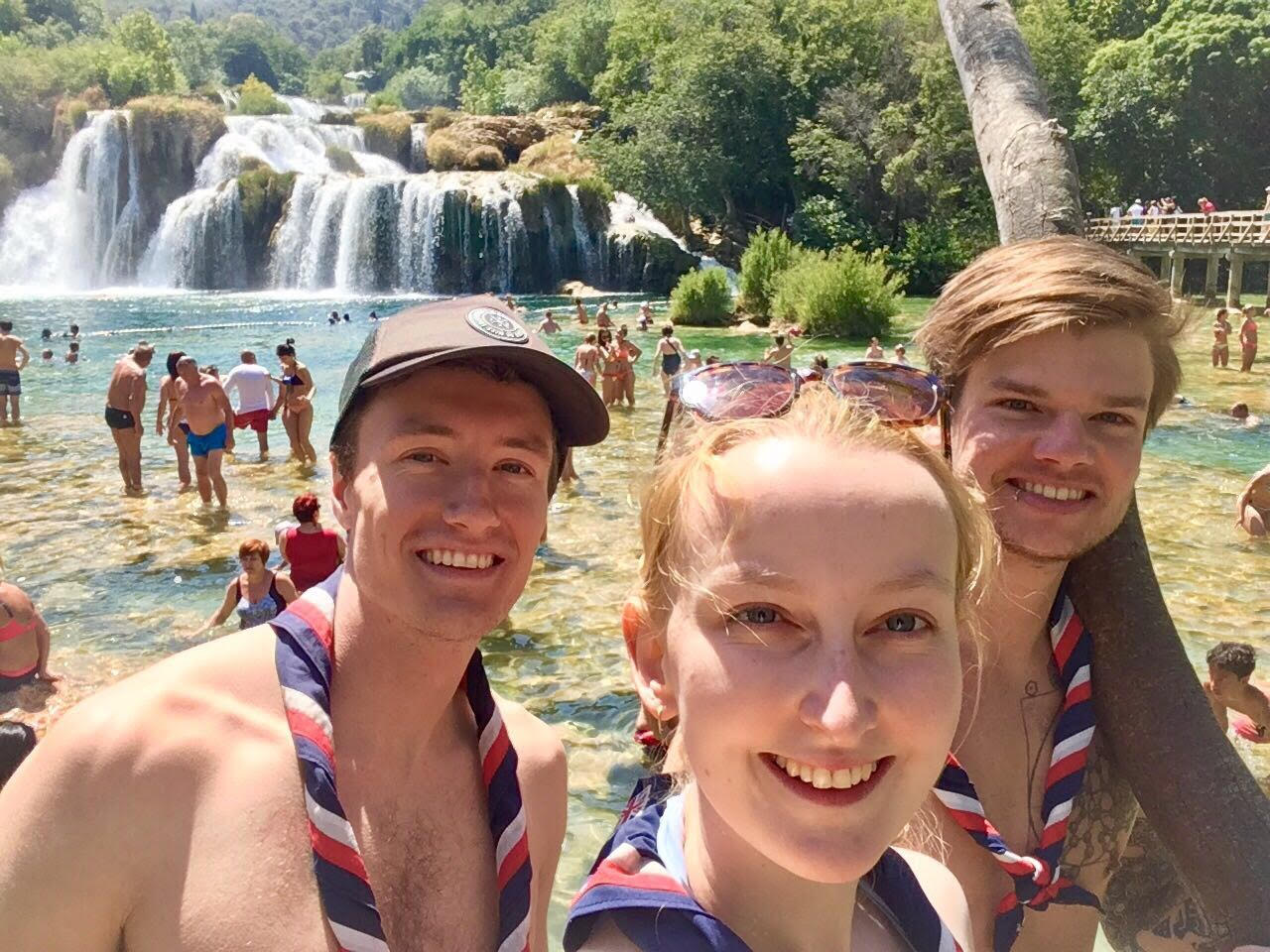 Scouts Explorer Belt Challenge in Croatia