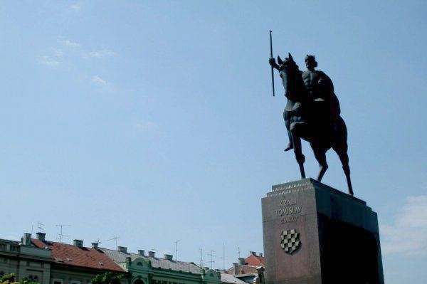 Photos of Zagreb - King Tomislav