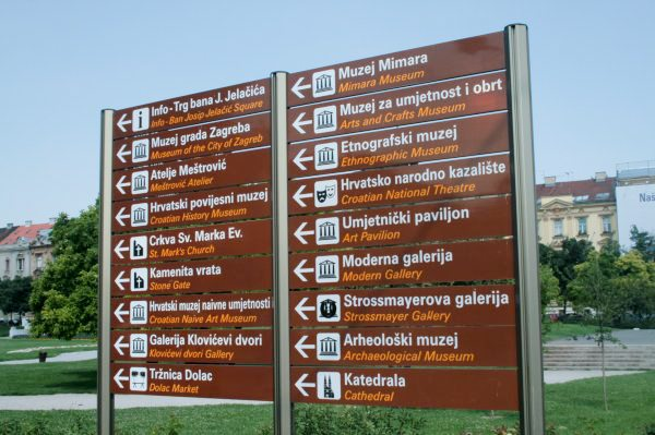 Photos of Zagreb - Streetsign