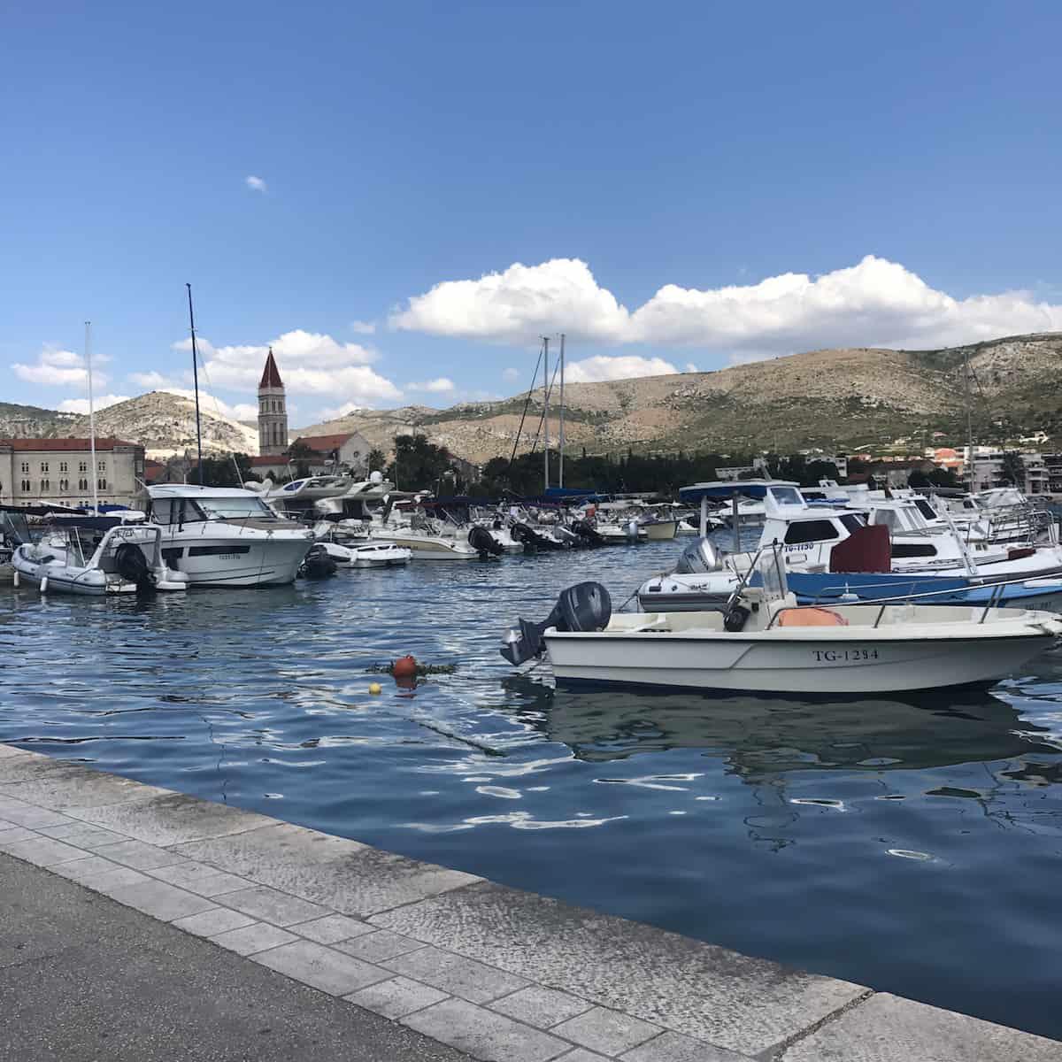 Ciovo - Approaching Trogir