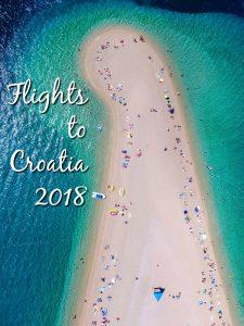 Flights to Croatia 2018