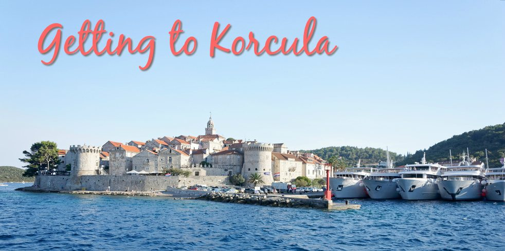 Getting to Korcula