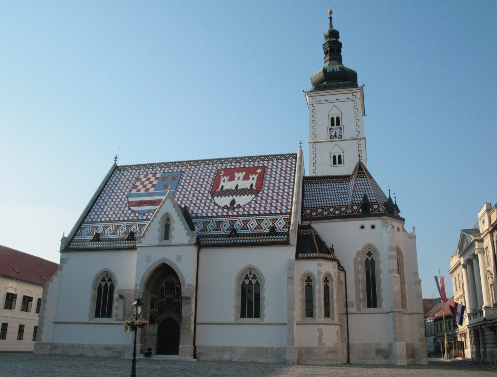 Sightseeing in Zagreb - St Mark's Church