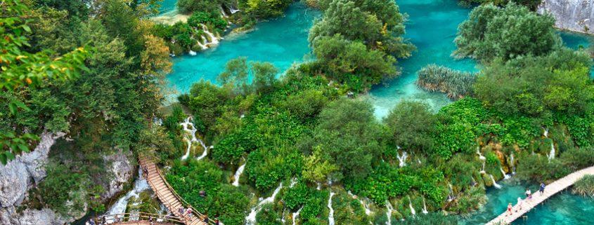 Exploring the Plitvice Lakes National Park