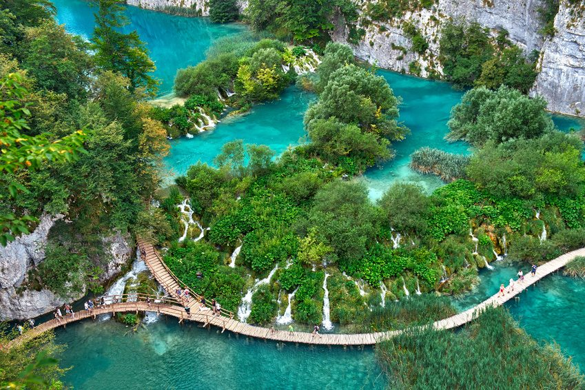 Exploring the Plitvice Lakes National Park