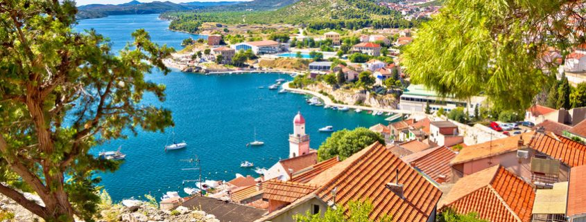 North Dalmatia - View from Sibenik