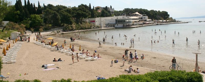 Beaches in Croatia - Bacvice