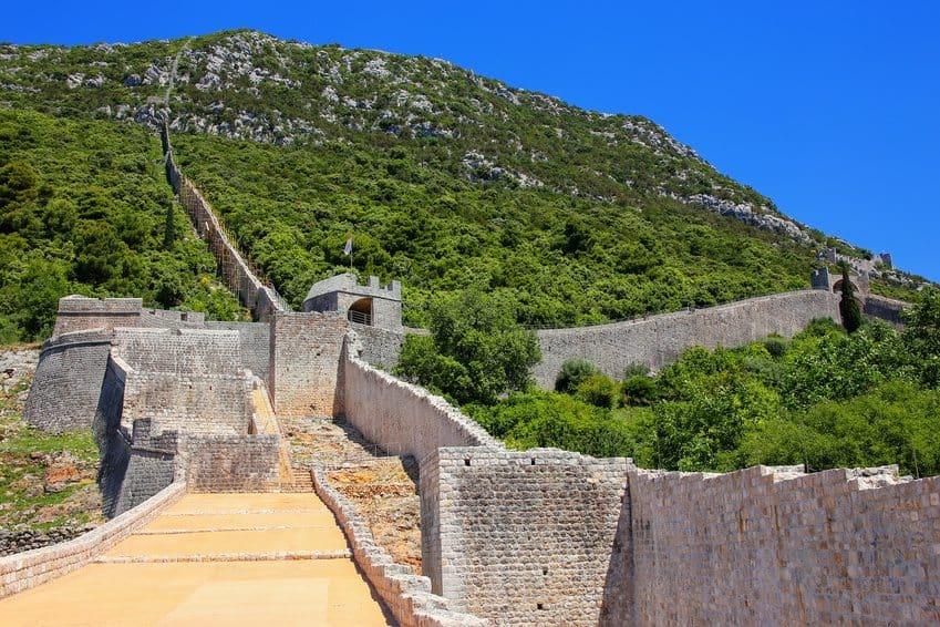 Ston - Town Walls