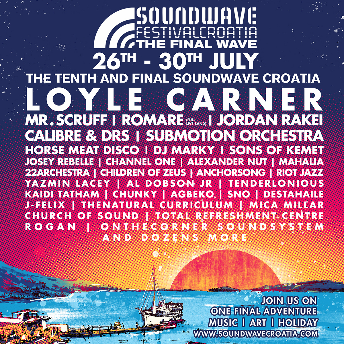Soundwave 2018 Line-Up
