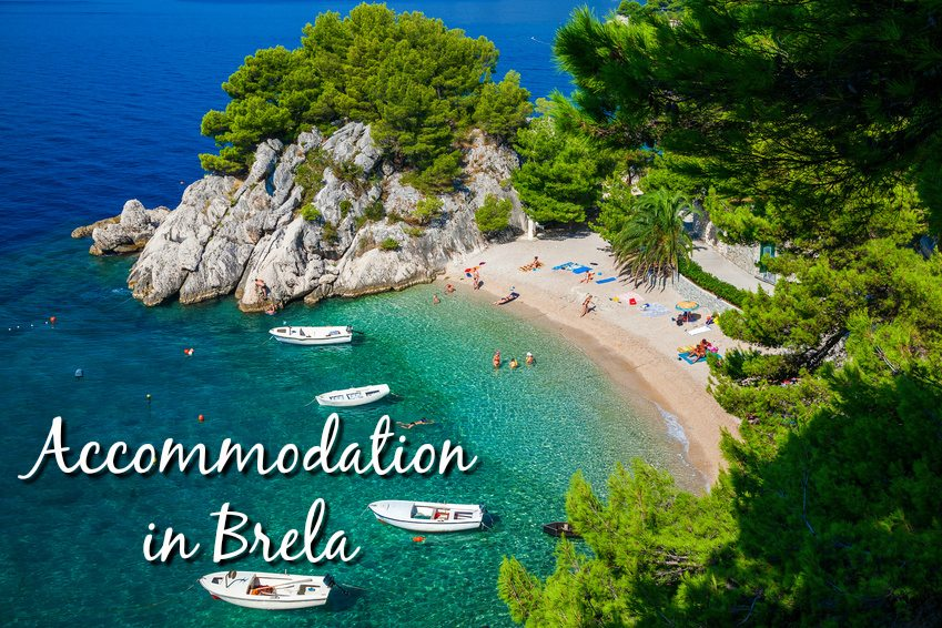 Accommodation in Brela