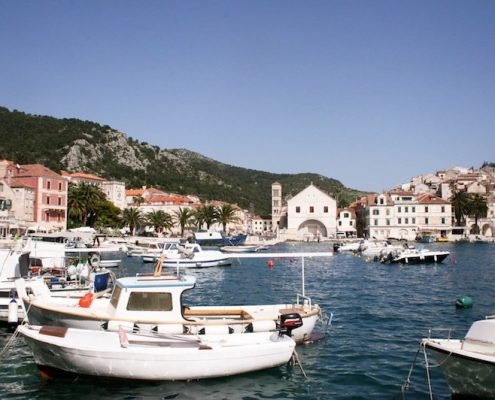 Photos of Hvar - Hvar Town harbour