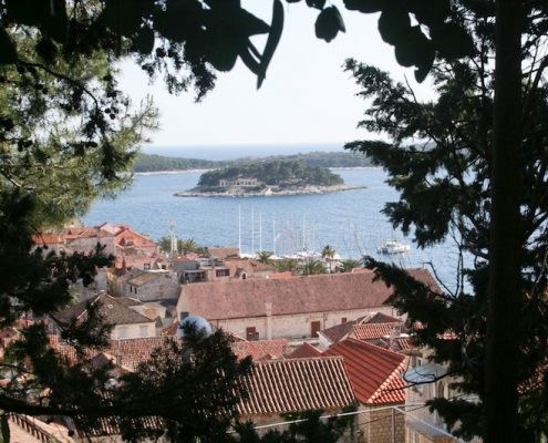 Photos of Hvar - Walk up to Spanjola Fortress
