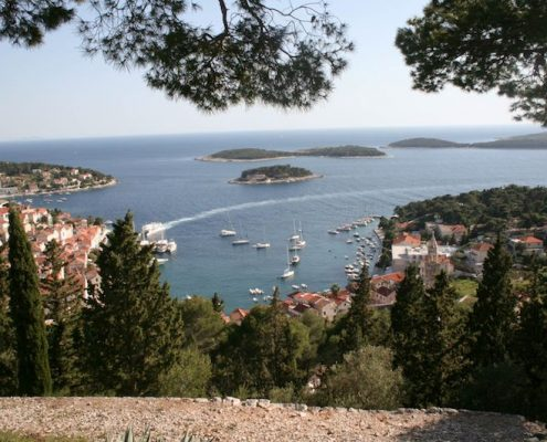 Photos of Hvar - Pakleni islands view