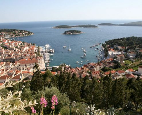 Photos of Hvar - View from the top of Spanjola Fortress