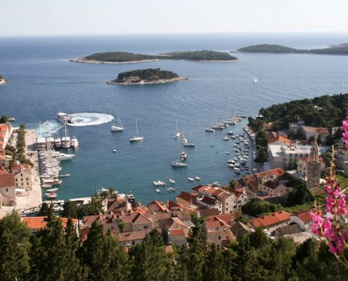 Photos of Hvar - VIew from Spanjola Fortress