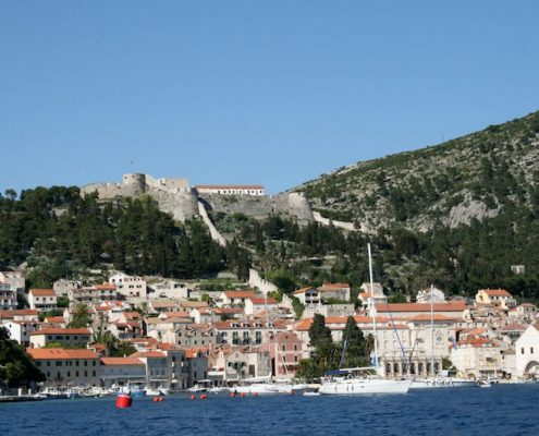 Photos of Hvar - Hvar Town from the sea