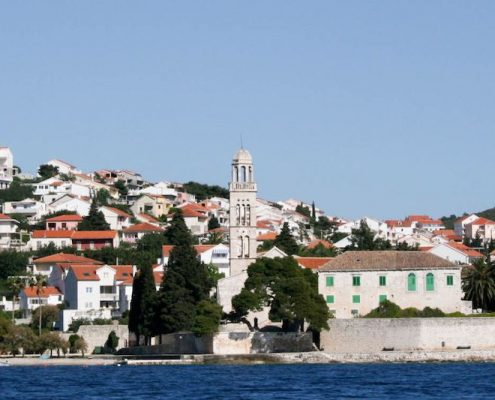 Photos of Hvar - Franciscan monastery bell tower