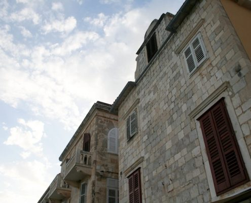 Photos of Hvar - Hvar Town stone houses