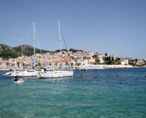 Photos of Hvar - Harbour of Hvar Town