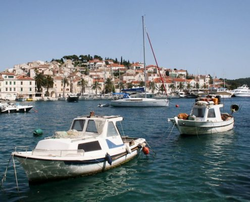Photos of Hvar - Hvar Town harbour small boats