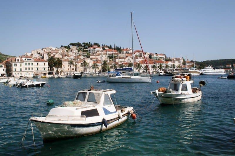 Photos of Hvar - Hvar Town harbour small boats