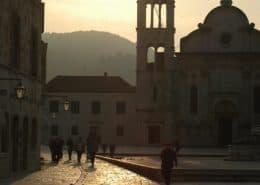 Images of Croatia 2 - Hvar main square