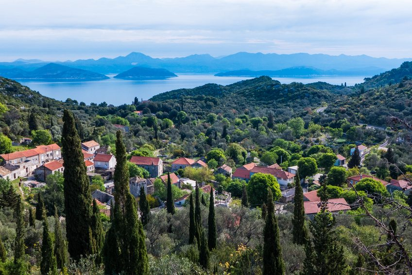 Accommodation in Mljet