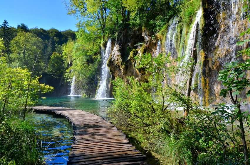 National Parks in Croatia - Plitvice Lakes Park