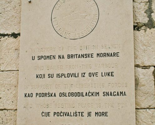 Photos of Vis - Komiza WWII plaque
