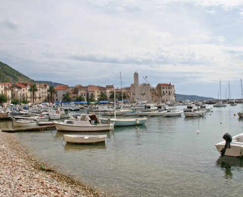 Photos of Vis - Komiza town