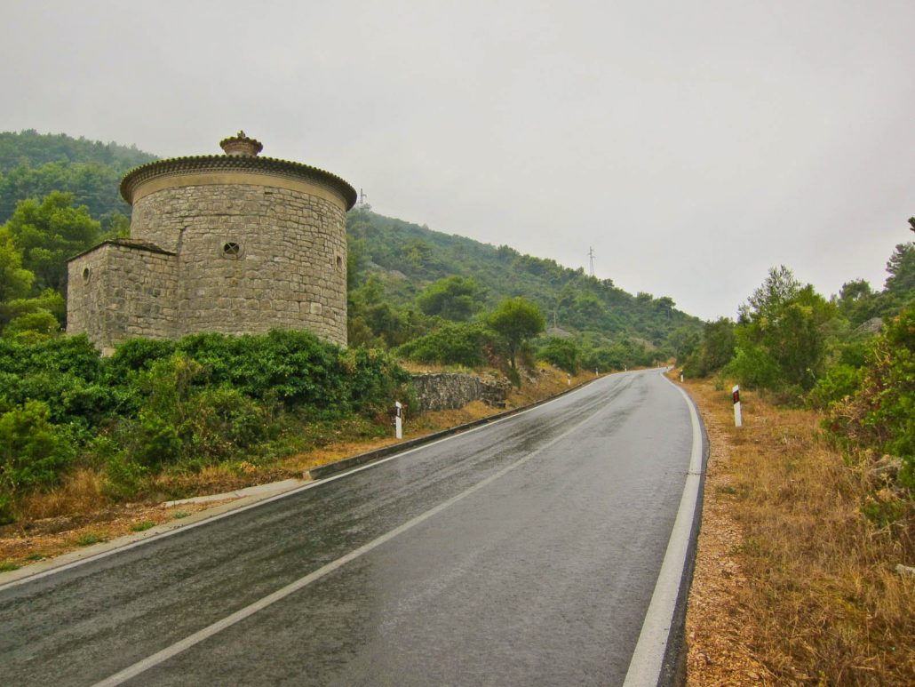 Photos of Vis - Road from Vis Town