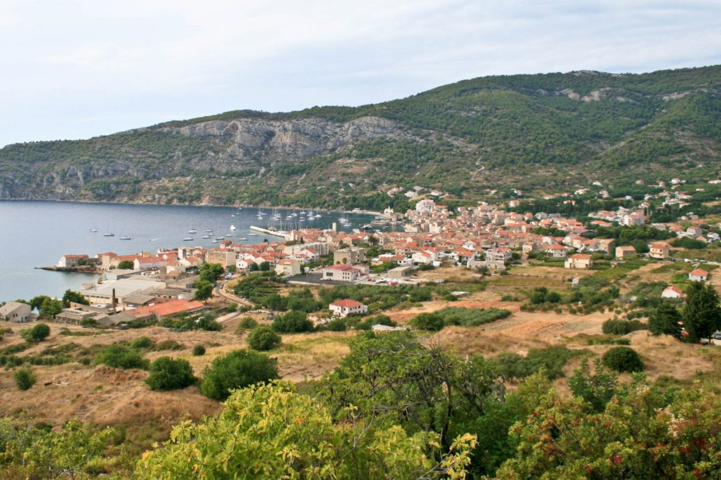 Photos of Vis - Komiza view from the hill