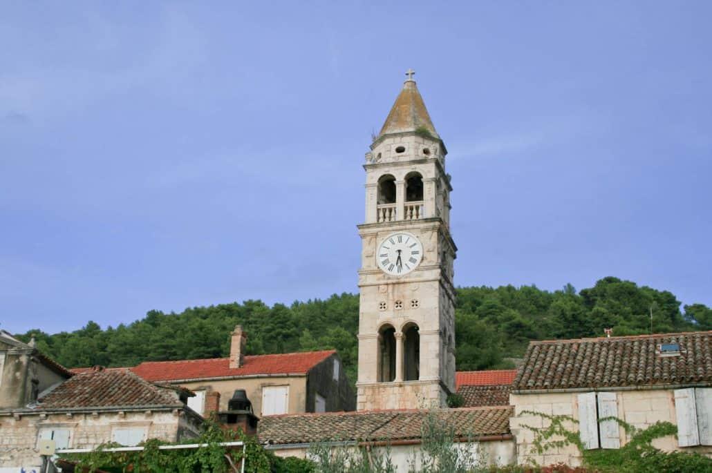 Photos of Vis - Clock tower in Kut