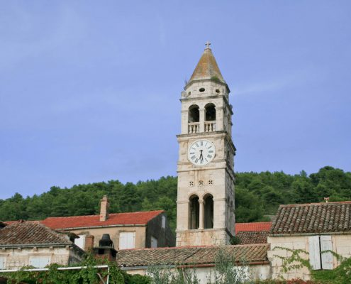Photos of Vis - Clock tower in Kut