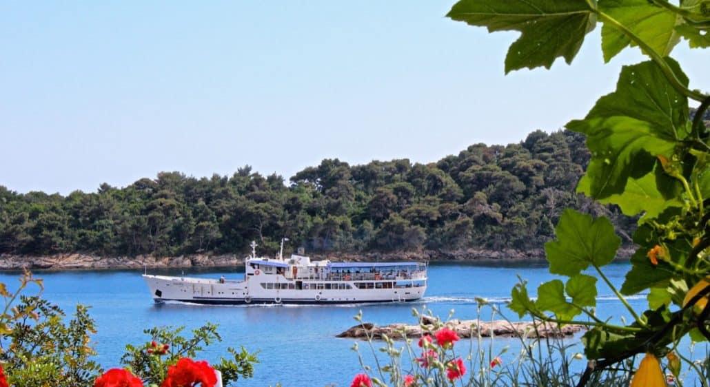 Photos of the Elafiti Islands - Sipan Islands Ferry