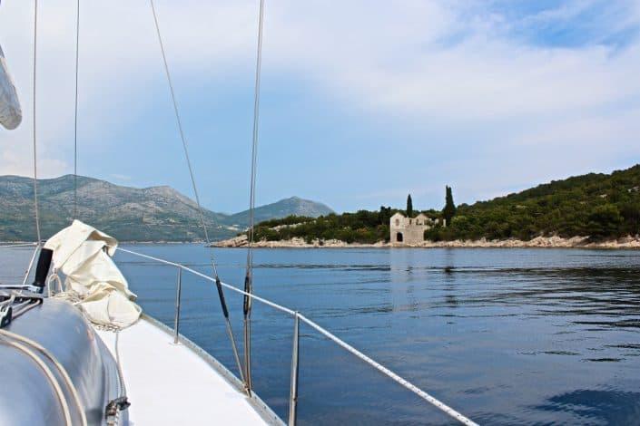 Photos of the Elafiti Islands - Sailing to Ruda Island